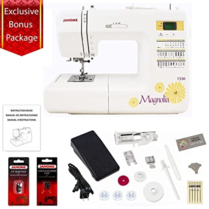 Amazon Janome 40 Stitch Computerized Magnolia 7340 Sewing Extraordinary Accessories For Sewing Machine