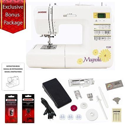 Amazon Janome 40 Stitch Computerized Magnolia 7340 Sewing Awesome Janome Magnolia 7330 Sewing Machine