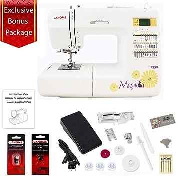 Amazon Janome 40 Stitch Computerized Magnolia 7340 Sewing Enchanting Sewing Machine Accessories