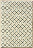 Oriental Weavers 6997Y Caspian Outdoor/Indoor Area Rug, 2-Feet 5-Inch by 4-Feet 5-Inch For Sale