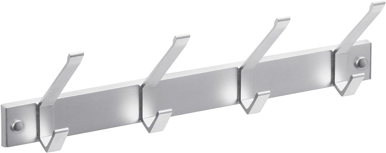 Attaccapanni in alluminio 262839 4 ganci Meister