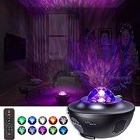 Ancocs Stjärnhimmel projektorlampa 360 grader, LED-stjärnprojektorlampa, Galaxy Nova Skylight Music Star projektor med…
