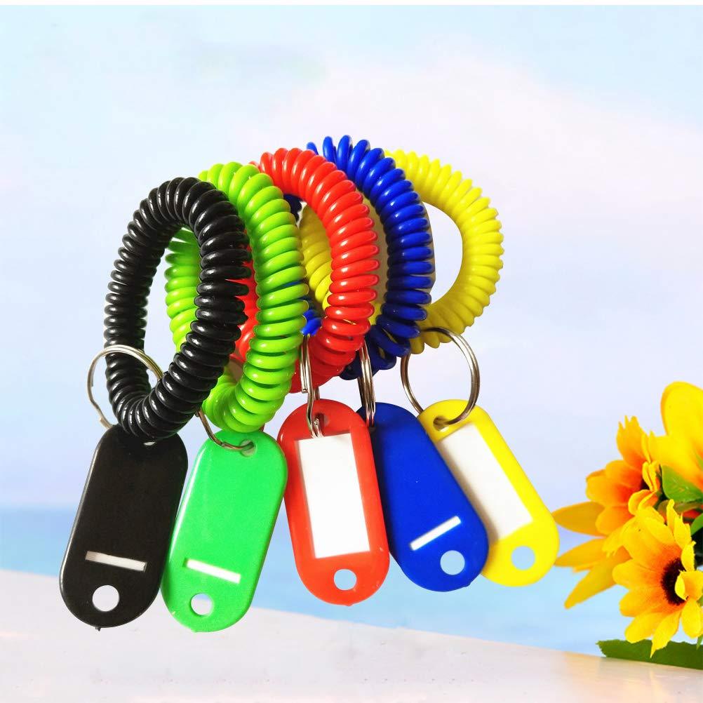 NUOLUX 10pcs Resuable Dry Erase Pockets suministros de papeler/ía para Office School colores surtidos