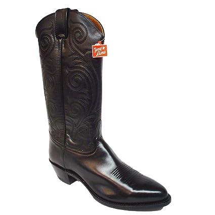 00d875013b2 Amazon.com: Tony Lama Western Boots Style #VL1972 Women's Black ...