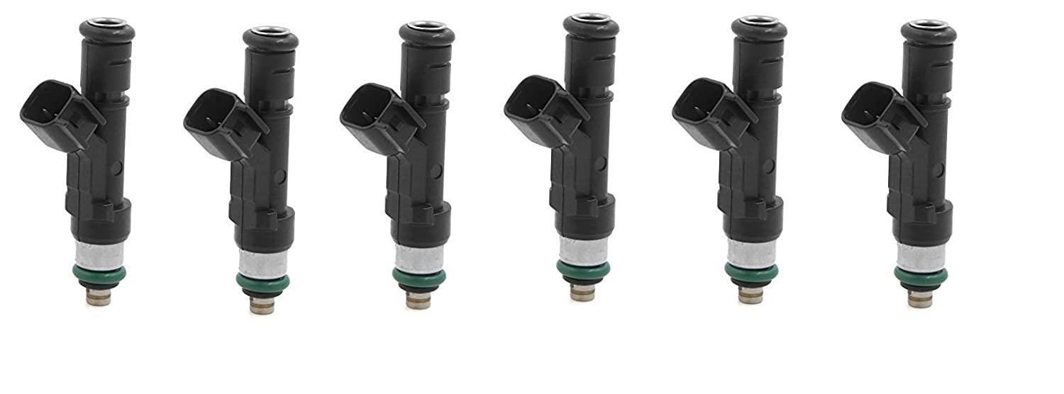 Re-Manufactured OEM Bosch 0280158119 Fuel injectors for Jeep//Dodge//Chrysler 3.3L 3.8L Set of 6