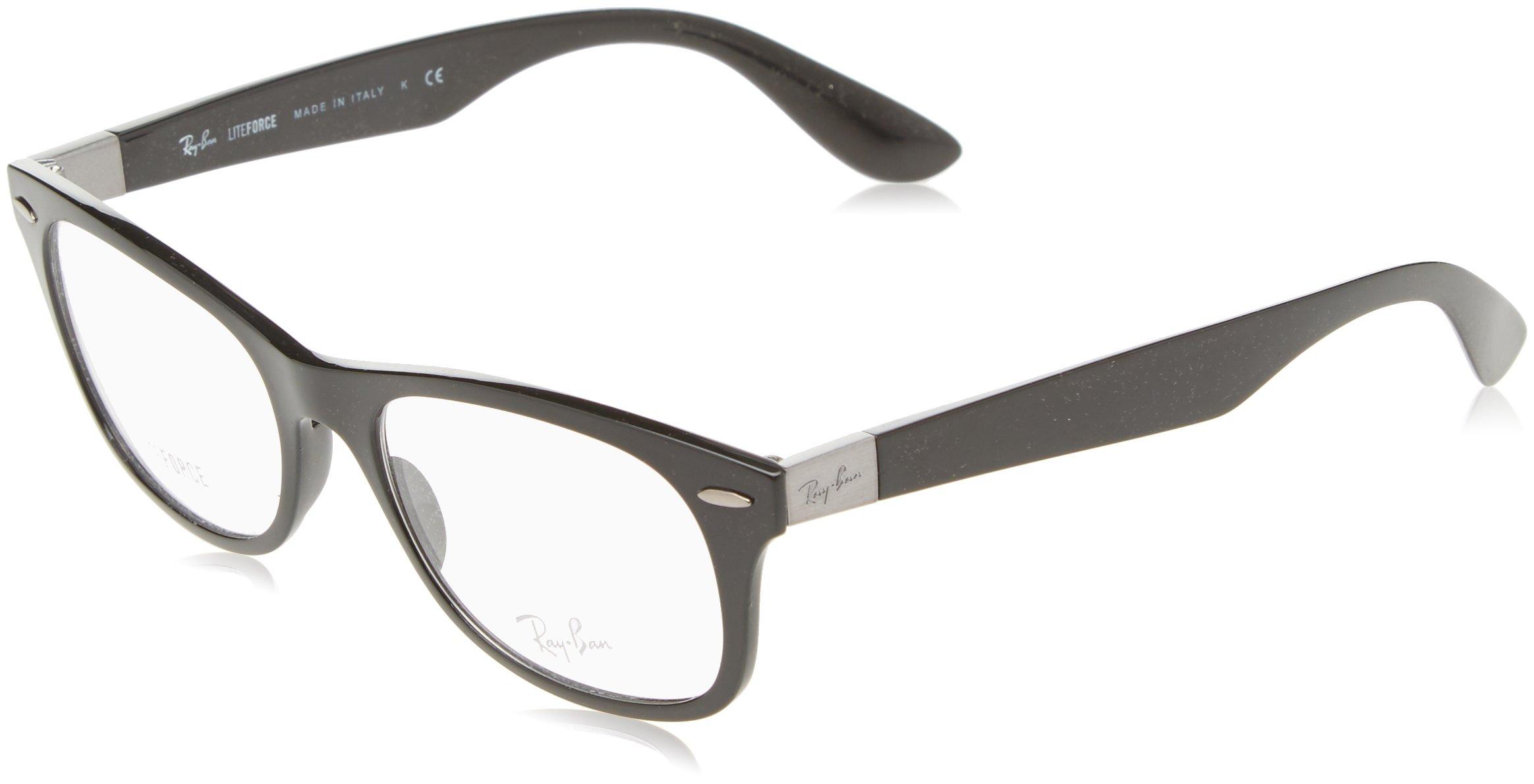 Ray-Ban Unisex RX7032 Eyeglasses Black 52mm