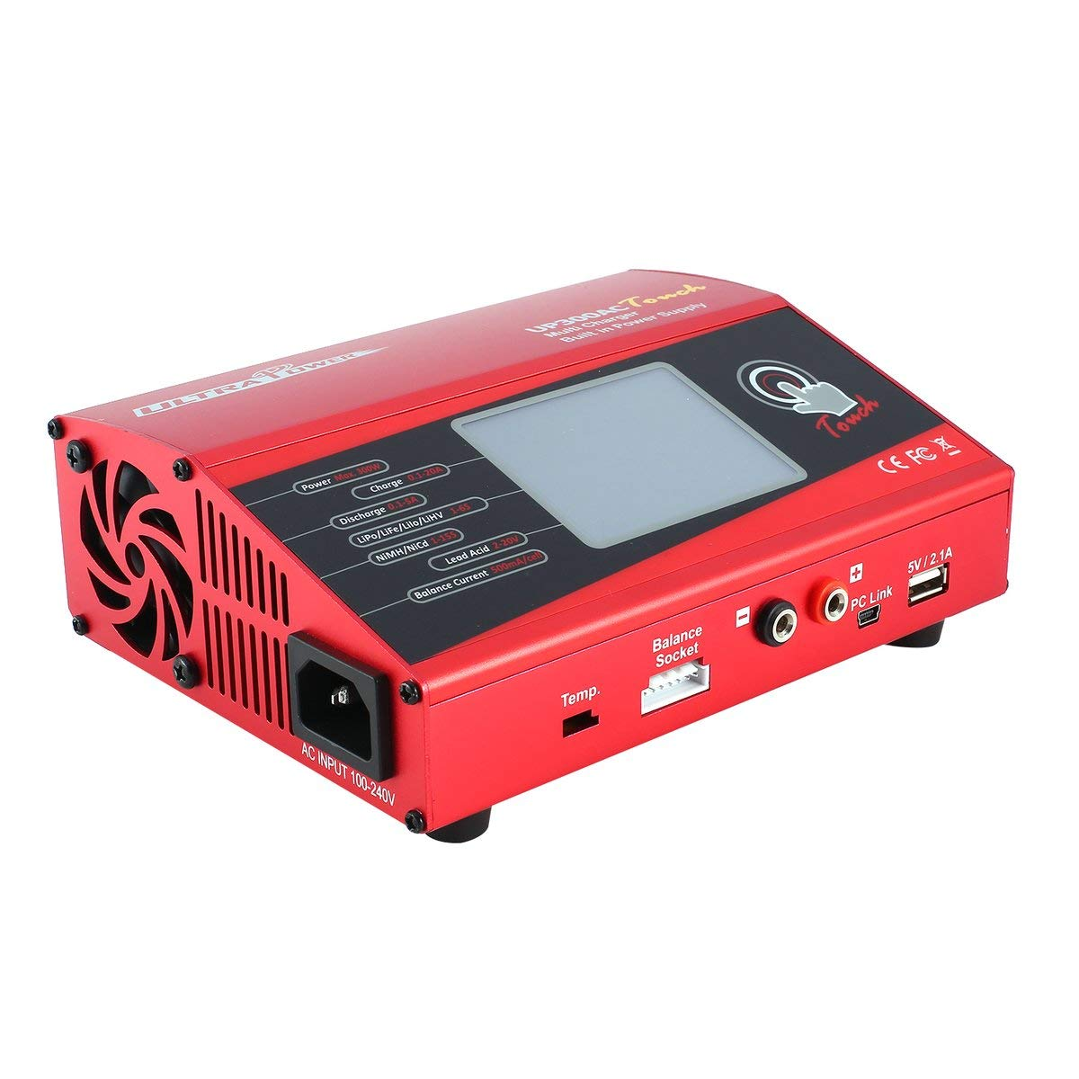 Gugutogo Ultra Power UP300AC Hochleistungs-Touch 300W 1-6S Akku-Ladegerät