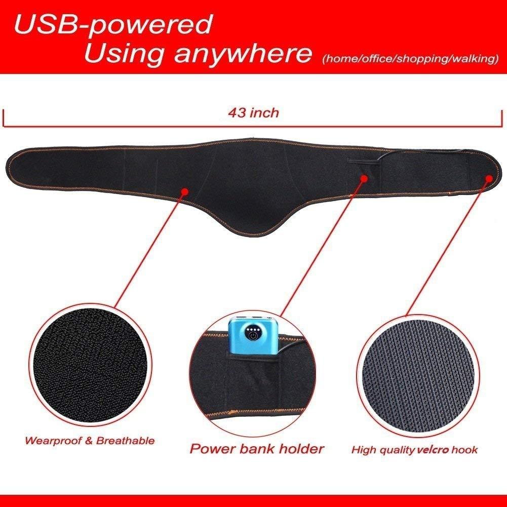 Amazon.com: Heating Pad for Cramps Waist Belt Abdominal ...