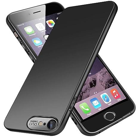 VIVK Funda Carcasa iPhone 6/6s, Fundas Carcasas Case Caso para iPhone 6/6s, Negro, Ultra-Delgado, Anti-Rasguño, Anti-Golpes, Anti-Estático, Ligera, ...