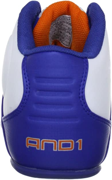 AND1 Reign Mid 1001203076, Chaussures de basketball mixte