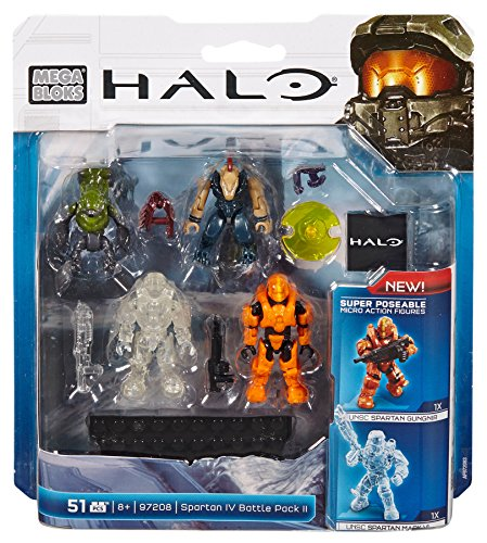 - Mega Bloks, Halo, Spartan IV Battle Pack II (97208)