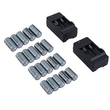 WOSOSYEYO Kit de baterías Recargables para cámaras de Seguridad Netgear Arlo - Paquete de 20 baterías: Amazon.es: Juguetes y juegos
