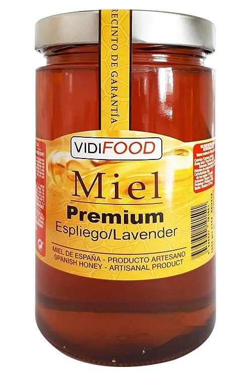 Miel de Espliego Premium - 1kg - Producida en España - Alta Calidad, tradicional & 100% pura - Aroma Floral y Sabor Rico y Dulce - Amplia variedad de Deliciosos Sabores: Amazon.es: Alimentación y bebidas