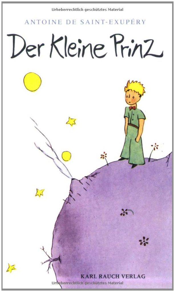 Der kleine Prinz: Antoine de Saint-Exupéry: 9783792000274: Amazon ...