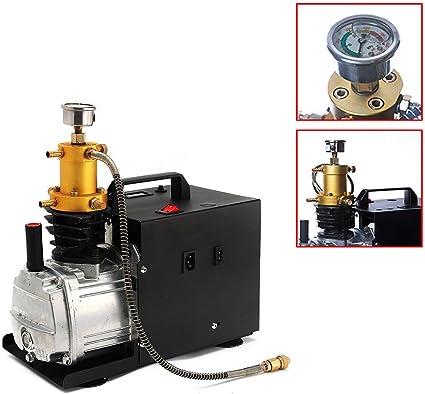Tfcfl Hochdruckluftpumpe Elektrische Pcp Luftkompressor Für 30mpa 4500psi 300bar Sport Freizeit