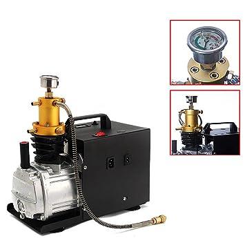 TFCFL alta presión bomba de aire eléctrica PCP Compresor De Aire Para 30 MPA/4500psi/300BAR: Amazon.es: Deportes y aire libre