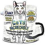 Cats Incredible Unscented SuperKittyKattakalizmik Klumping Litter - 25 lb