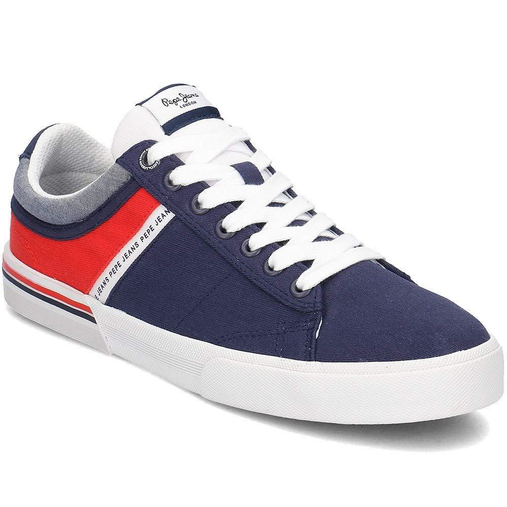 Pepe Jeans, North Navy PMS30531, Blaue Turnschuhe für Männer, 40