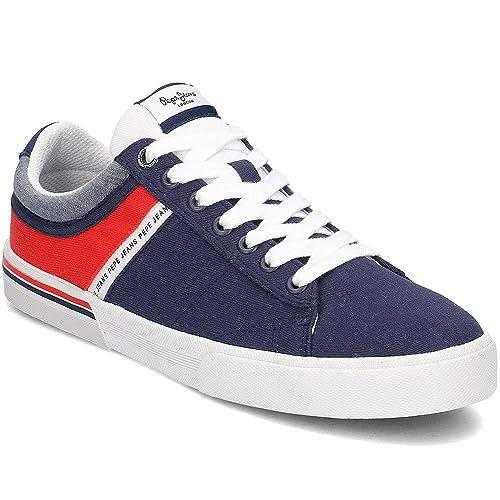 Pepe Jeans North Half, Zapatillas para Hombre: Amazon.es: Zapatos y complementos
