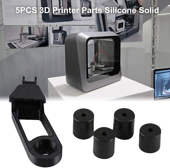 Bettying 5 Piezas de Silicona sólida para Impresora 3D Ender 3/CR ...