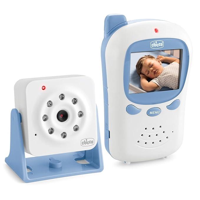 Chicco Baby Monitor Basic Smart - Vigilabebés con cámara video, con visión nocturna