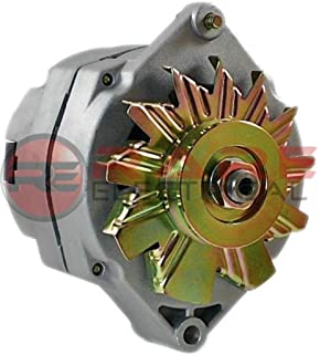 new alternator fits 10si delco 1 wire self energizing hookup 50 amp 24 volt  se24vv