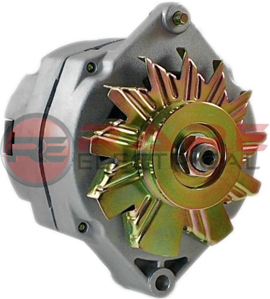 New Alternator Fits 10si Delco 1 Wire Self Energizing 14 Gm Si Wiring Hookup 50 Amp 24 Volt Se24vv Automotive