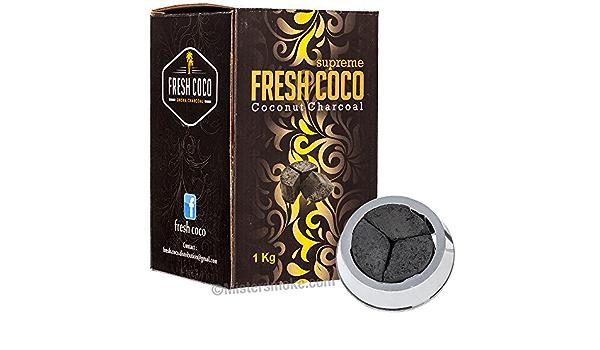 fresh coco Suprême - Carbón Natural de 1 kg