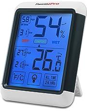 ThermoPro TP55 - Termometro Igrometro Digitale con grande Schermo di Tocco Retroilluminato, Misuratore Digitale della Temperatura e Umidità