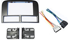 Jeep Grand Cherokee 1999-2001 Double Din Aftermarket Radio Stereo Navigation Bezel Installation Dash Kit