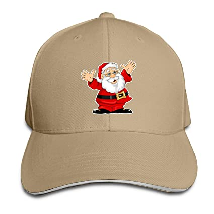 6f100dad501 Image Unavailable. Image not available for. Color  Kidhome Unisex  Adjustable Plain Hat Ugly Christmas Santa ...