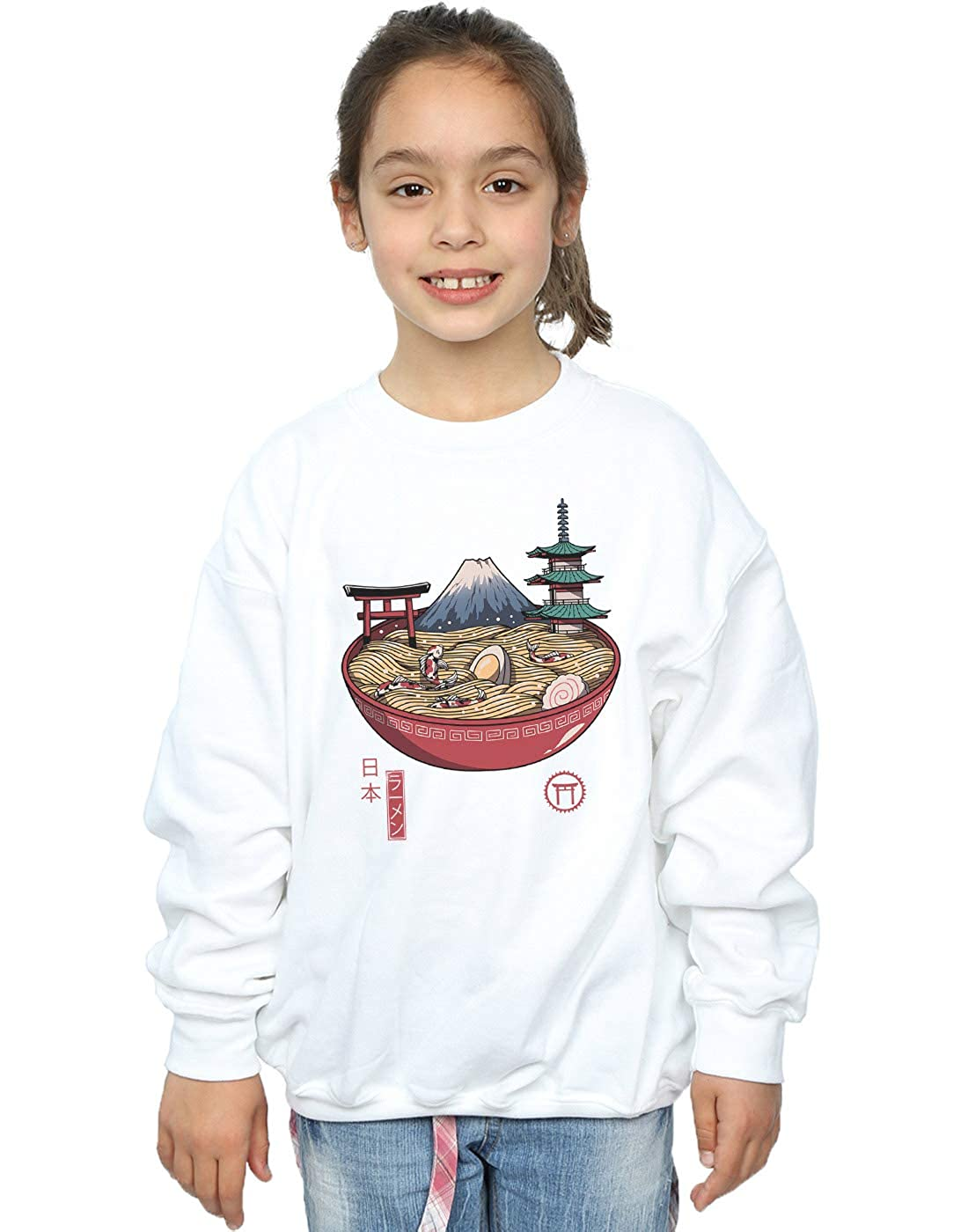 Vincent Trinidad Girls Japanese Ramen Sweatshirt