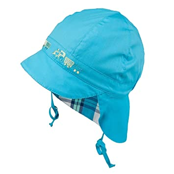 aab2087796a TIE UP 100% Cotton hat with UV +30 SUN PROTECTION Spring Summer BABY BOYS