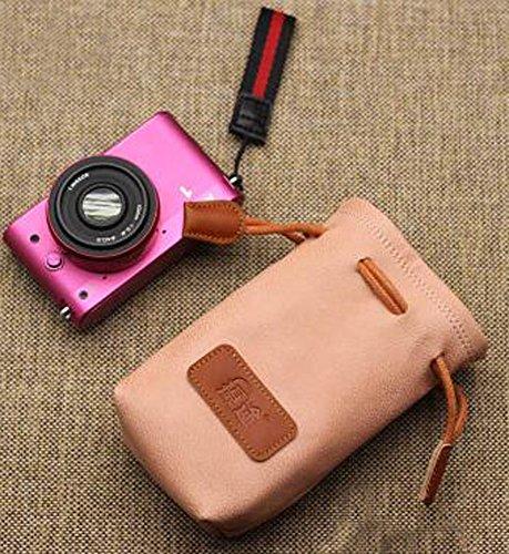 Micro Einzelkameratasche The Lens empfangen Beutel Kameratasche Aprikose