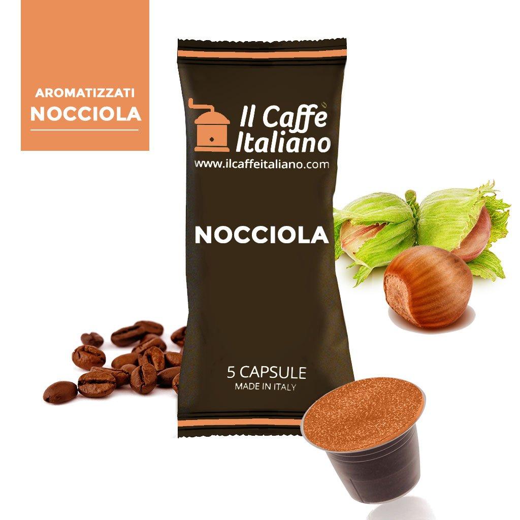 Caffè italiano 50 Nespresso-Compatible Capsules - 50 Capsules Coffee Flavoured Chocolate Compatible Coffee Machine Nespresso - Machine Nespresso Kit 50 ...