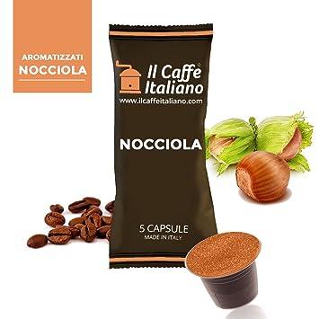Caffè italiano 50 Nespresso-Compatible Capsules - 50 Capsules Coffee Flavoured Hazelnut-Compatible Nespresso