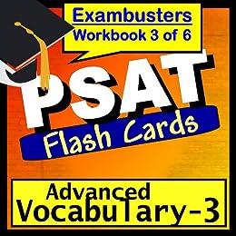 PSAT Test Prep Advanced Vocabulary Review Flashcards--PSAT