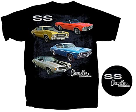 Buy Cool Shirts Mens Chevelle Bad Ss T Shirt Small