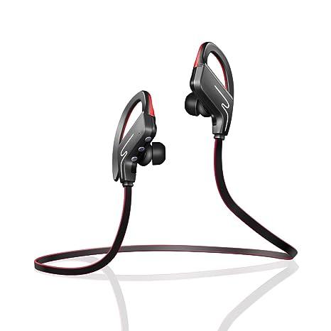 YaQi Auriculares inalámbricos Bluetooth Impermeable IPX7, los Mejores Auriculares Deportivos con micrófono, Auriculares Estéreo HiFi, 8 Horas Jugando ...