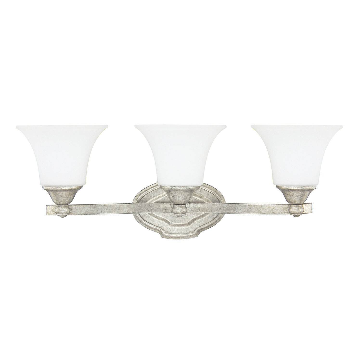 Capital Lighting 8523AS-114 Three Light Vanity by Capital Lighting