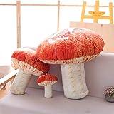 "Changsun Creative Vivid 3D Mushroom Pillow Gift Plush Throw Pillow 7""(Small Size)"
