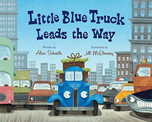 Little Blue Truck Leads the Way (Little Blue Truck Hardcover)