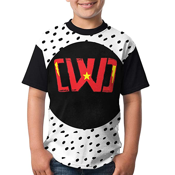 1ee2e65e7657 Amazon.com: Boys and Girls Chad Wild Clay Print T-Shirts, Youth ...