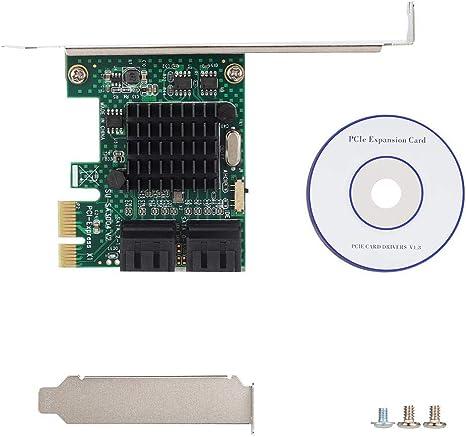 PCIe SATA 3.0 CardPCI Express to SATA III 6GB//s Expansion Card Adapter