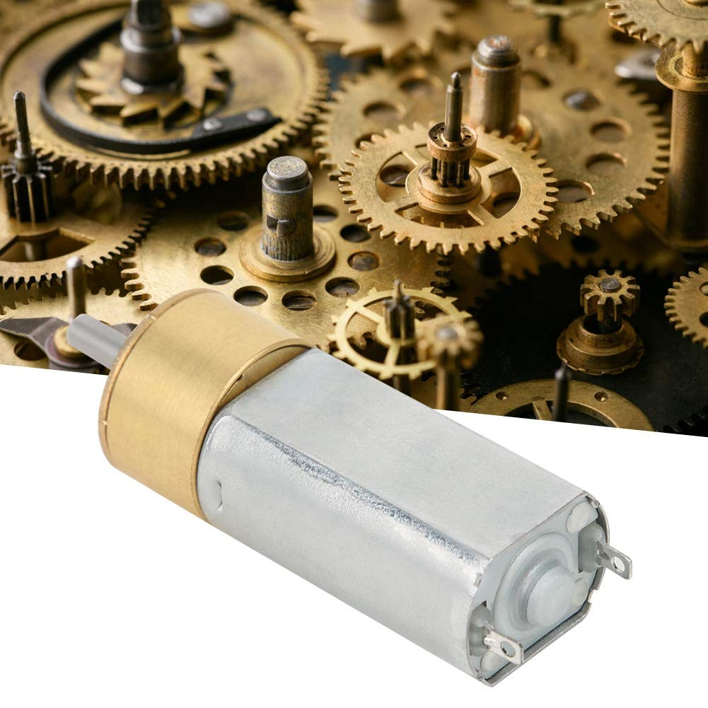 800RPM DC12V Planetary Gear Motor,Low Noise Electric Motor,High Torsion All-Metal Structure Gear Motor Planetary Gear Motor