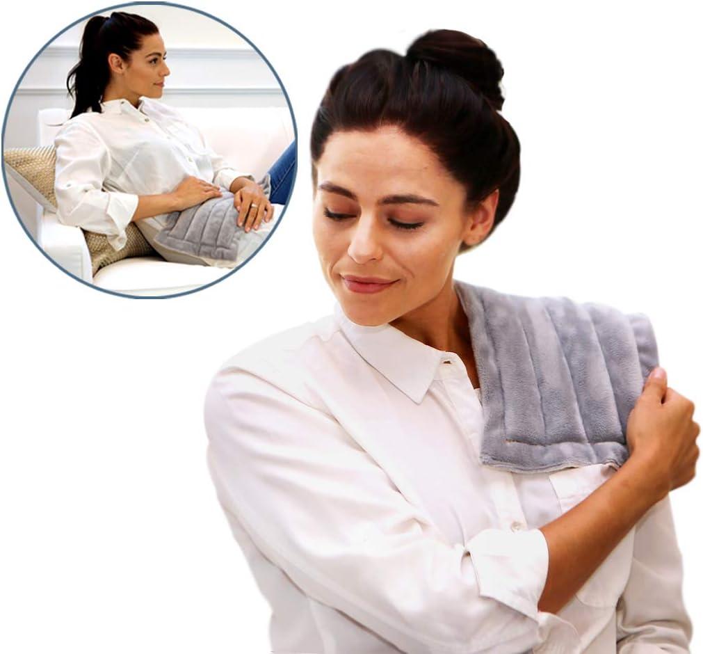 Heating Pad Solutions – Microondas Buddy – Muscle, estrés, alivio caliente y frío Pack, Unscented