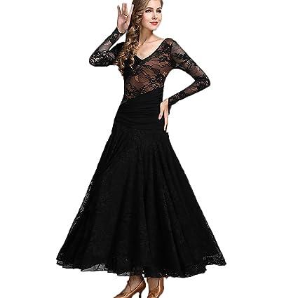 c610647c89cd47 Rongg Moderner Tanzrock Für Frauen Performance Nationaler Standard  Ballsaal-Tanz-Outfit Foxtrott Walzer Übungskleid