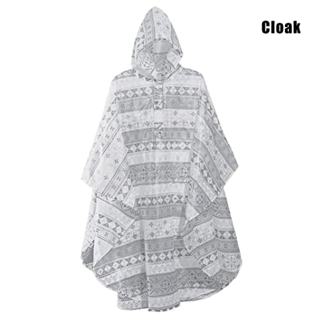 Tenflyer Waterproof Jacket Raincoat, Mujeres Hombres ...