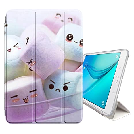 Amazon com: FJCases Marshmallow Candy Smart Cover Stand + Back Case