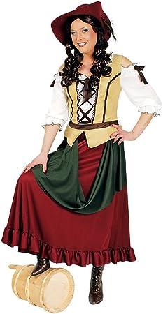 Tabernas disfraz para mujer de la Edad Media vestido de anfitriona ...